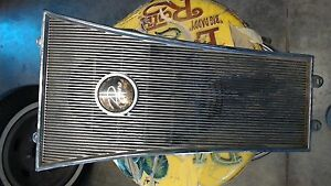 1964 1963 Buick Riviera Rear Seat Speaker Grill Good Used Chrome Nice
