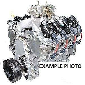 550 Hp Ls All Aluminimum Complete Engine Pump Gas Engine W 500 Ft Lbs Torque