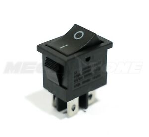 Dpst Kcd1 Mini Rocker Switch On off 6a 250vac T85 High Quality Usa Seller