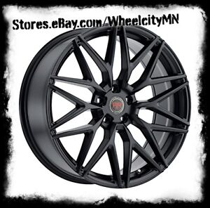 20 Inch Black Revolution Racing Rr18 Wheels Rim Ford Mustang Flex Edge 5x4 5 40