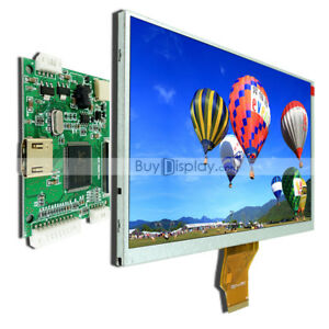 7 Inch Tft Lcd Display W hdmi Driver controller Board For Raspberry Pi 800x480