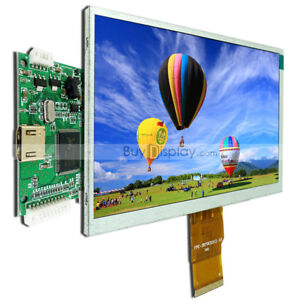 Raspberry Pi 7 Inch Tft Lcd Display W hdmi Driver controller Board 1024x600