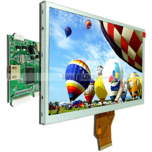 9 Inch Tft Lcd Display W hdmi Driver Board 800x480 raspberry Pi optional Touch