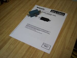 Tektronix 067 0681 01 Tunnel Diode Pulser Calibration Fixture Actual Photo