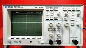 Hp Agilent 54600b Oscilloscope 100mhz 2 Channels