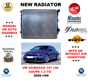 For Vw Scirocco 137 138 Coupe 1 4 Tsi 2008 on New Radiator Oe Quality