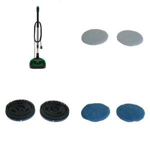 Floor Polisher Machine Buffers Pads For Home Use Cleaner Scrubber Wood Sander