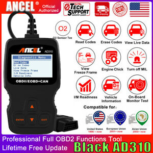 Universal Obd2 Car Engine Code Reader Ancel Ad310 Diagnostic Tool Auto Scanner