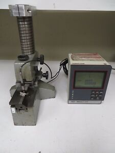 Mahr Dual Probe Gage Comparator Stand W Millimar C1210 Digital Readout Mw2