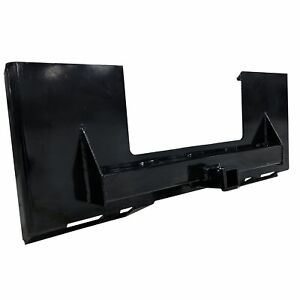 Titan Skidsteer Trailer Receiver Mount Plate Hitch Bobcat Case Skid Steer