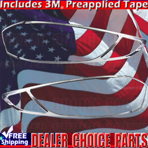 2013 2014 2015 2016 Ford Fusion Chrome Taillight Tail Light Bezels Covers Trims