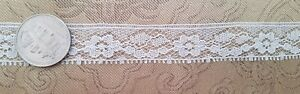 A38 Vintage Lace Trim Edging Trims Sewing Doll French Dolls Costumes 10 Yards
