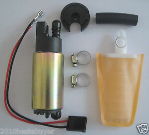 Universal Electric Intank Fuel Pump Install Kits Replace Bosch 38mm For Toyota