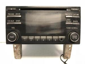 13 Nissan Panasonic Cd Xm Am Fm Radio Info Display 281859fm1a Cq fn92e04d