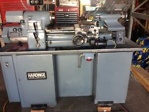 Hardinge Hlv h em English Metric Precision Tool Room Lathe 11 X 18 Hlvh Hlv