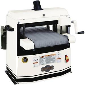 Shop Fox W1740 12 Bench top Drum Sander Free Shipping
