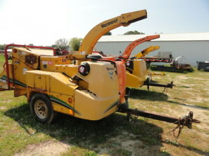 2009 Vermeer Bc1000xl Wood Chipper Brush Cutter Forestry Arborist