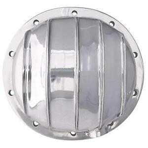 Trans Dapt Polished Aluminum Differential Cover Kit Chevy Gm 8 5 10 Bolt 4833