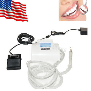 Dental Ultrasonic Scaler Piezo Fit Ems handpiece Scaling 4 Tips Lcd Touch Screen