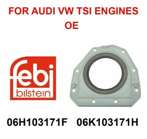 Oe Rear Main Seal Engine Crankshaft Seal W Flange For Audi Vw 2 0t Tsi Engines