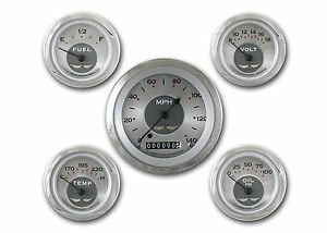 Classic Instruments All American Original Series 5 Gauge Set Aw00src Speedo Fuel
