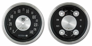 Classic Instruments All American Tradition Series 2 Gauge Set At52slc Speedo