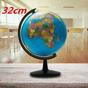 13 Rotating World Map Globes Table Decor Ocean Geographical Earth Desktop Globe