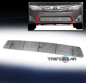 Fits 2012 2014 Toyota Camry Front Bumper Lower Billet Grille Grill Insert Bolton