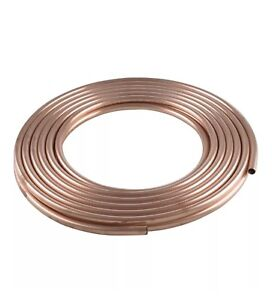 Mueller Refrigeration Tubing Copper 1 2 Od X 0 032 Wall 50 Coil