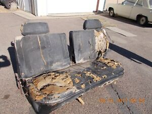 Mopar B Body Bench Seat From 2 Door Will Fit 67 70
