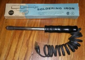 Vintage sears Craftsman 100 Watt Soldering Iron Tool 3 4 Tip In Original Box