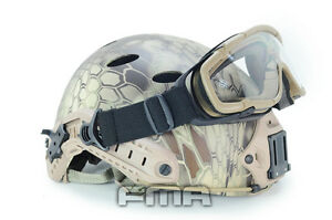 FMA Outdoor OK Goggles Eye Protector Glasses for SI Ballistic TACTICAL Helmet