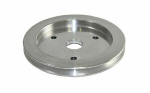 Bbc Chevy 396 454 Machined Aluminum Swp Single Groove Crankshaft Pulley