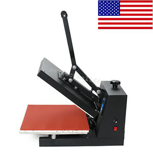 Us Usps Digital Heat Press Machine Heating Sublimation For T shirt Hat Printer