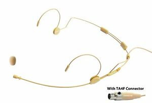 MIC 500SHU Professional Headset Microphone for Shure Wireless System. Beige $45.95
