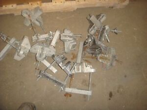 Lot Of 10 Sherman Reilly Block Cross Arm Mount Brackets