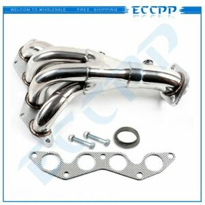 For Honda Civic Dx lx D17a1 2001 05 1 7l Stainless Steel Exhaust Header Manifold