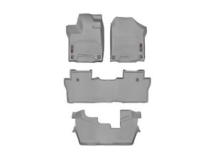 Weathertech Floorliner For Honda Pilot 8 Passenger 16 19 1st 2nd 3rd Row Grey