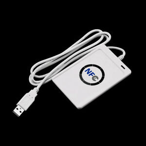 Built in Antenna Nfc Rfid Contactless Smart Reader Writer usb 5pcs Ic Cards Co