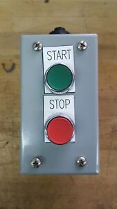 Sprecher Schuh Start Stop Pushbutton Switches W Enlosure Contacts D7 x10