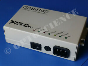 National Instruments Ni Gpib enet Ethernet Gpib Controller