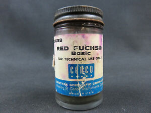 Red Fuchsin Basic 1 Ounce Central Scientific Company 39638