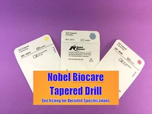 Nobel Biocare Drill Tapered Rp 4 3mm X 8mm