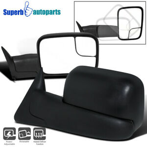 1998 2001 Dodge Ram 1500 Power Heat Towing Fold Out Mirrors 98 02 Ram 2500 3500