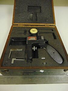 Starrett Internal Groove Gage Model 1175 W Case Tips Fp35