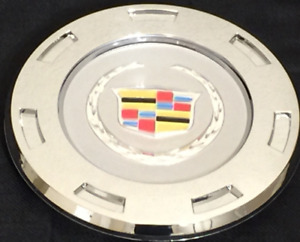 New 2007 2014 Color Crest Cadillac Escalade 22 Replacement Wheel Center Cap Hub
