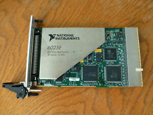 National Instruments Pxi 6025e Ni Daq Card Multifunction Analog Input