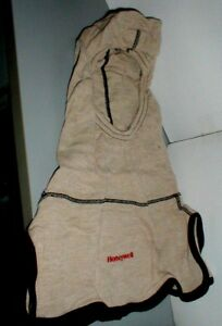 Firefighter Hood Tan Turnout Gear One Size Fits All Honeywell New