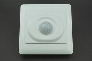 New Wall Mounted Automatic Ir Infrared Pir Movement Motion Sensor On off Switch