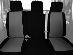 Caltrend Rear Row 60 40 Split Bench Custom Fit Seat Cover For Select Toyota Rav4